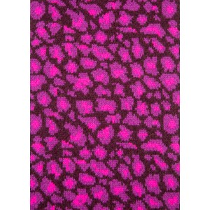 Paul Smith Accessories Leopard Rib Scarf Pink