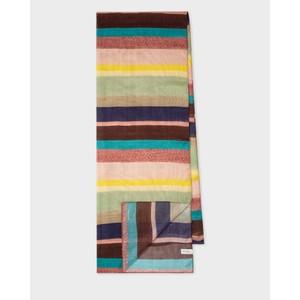 Winding Stripe Scarf Multicolour