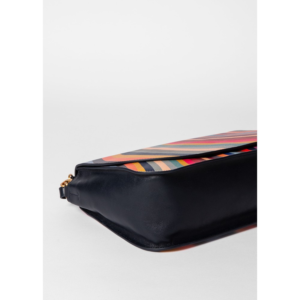 Paul Smith Accessories Swirl Med Saddle Bag Multicolour