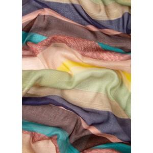 Paul Smith Accessories Winding Stripe Scarf Multicolour