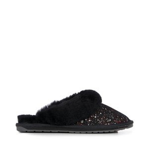 Jolie Galaxy Slippers Black