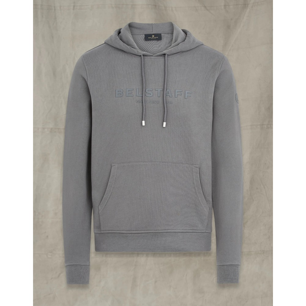 Belstaff 1924 Hooded Pullover Granite Grey/Granite Grey