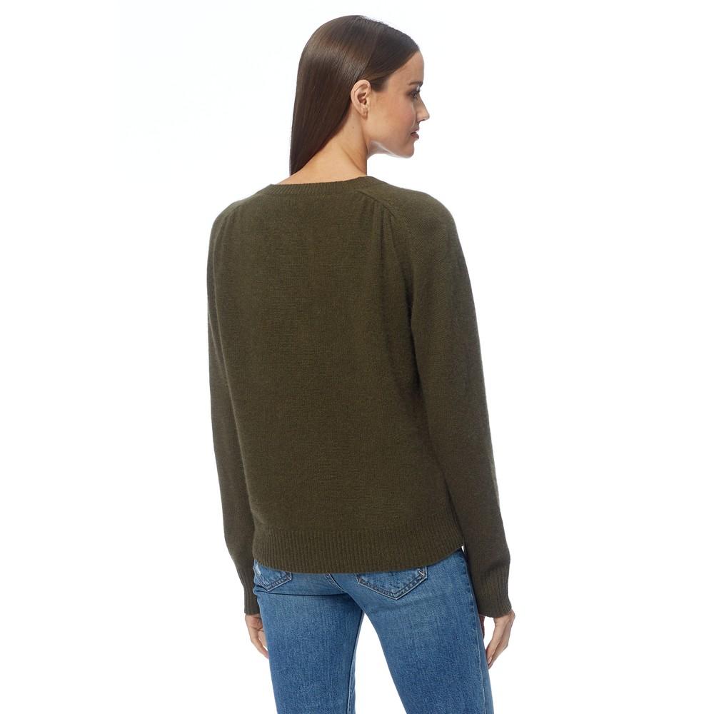 360 Sweater Ivy V-Neck Jumper Olive