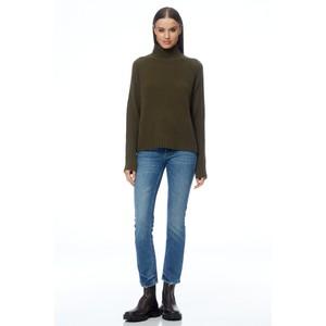 360 Sweater Annalee Turtleneck Jumper Olive