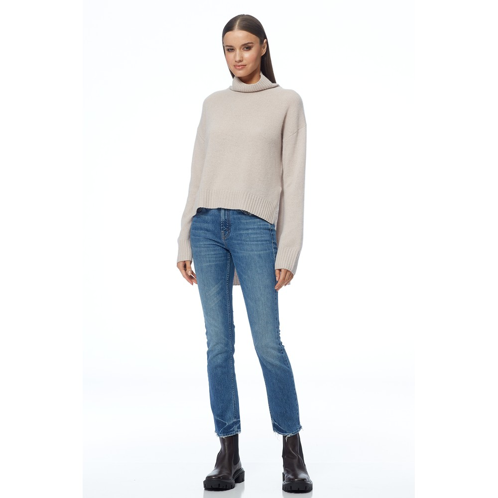 360 Sweater Evianna Turtleneck Jumper Sheepskin