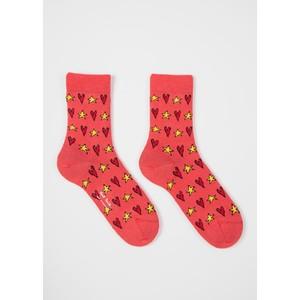 Paul Smith Accessories Tiffany Star Socks Pink