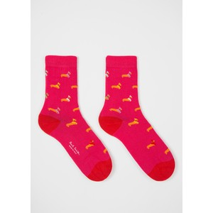 Paul Smith Accessories Tara Teckle Socks Pink