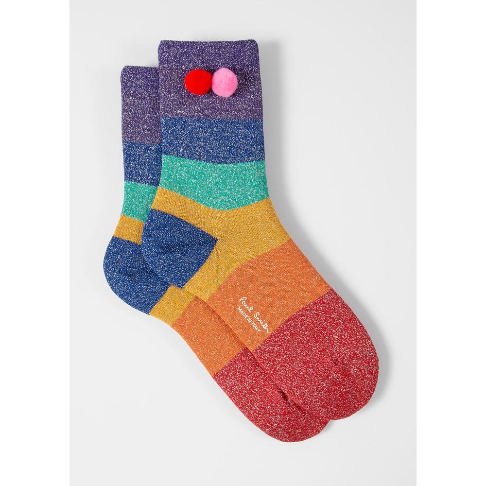 Paul Smith Accessories Samira Stripe Socks Multicolour