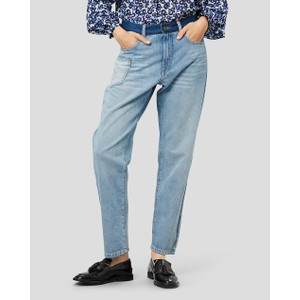 Reeta Slim Crop Jeans Blue