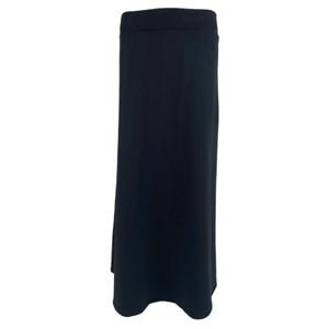 Ellen Sweat Jersey Skirt Black
