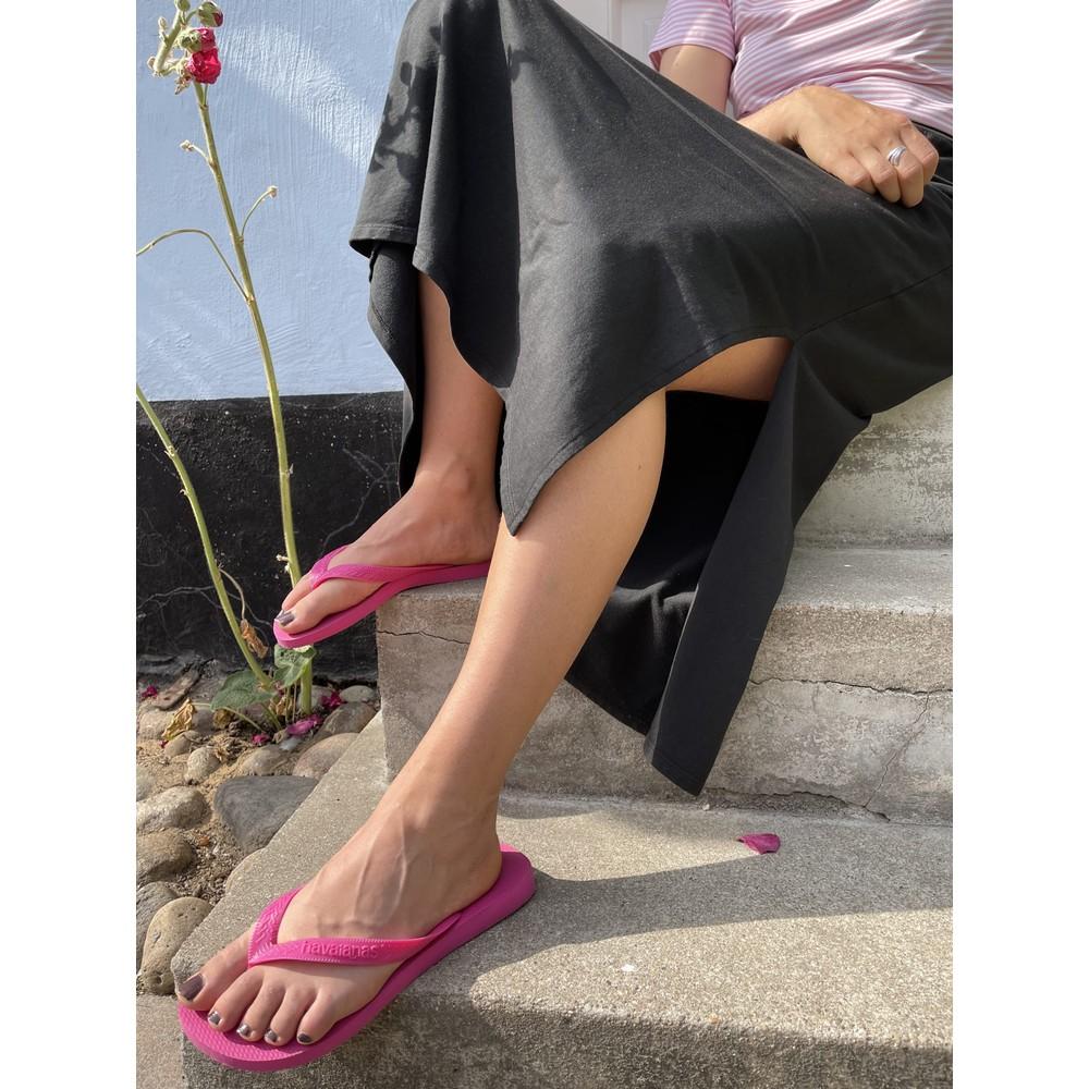 Black Colour Ellen Sweat Jersey Skirt Black