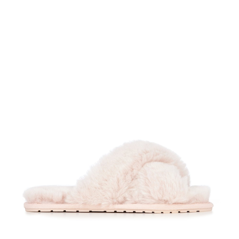 EMU Australia Mayberry Frost Slippers Musk Pink