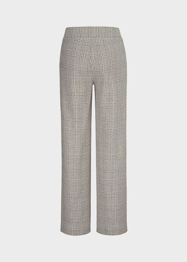 Riani Dogtooth/Check Trousers Opaline Patterned