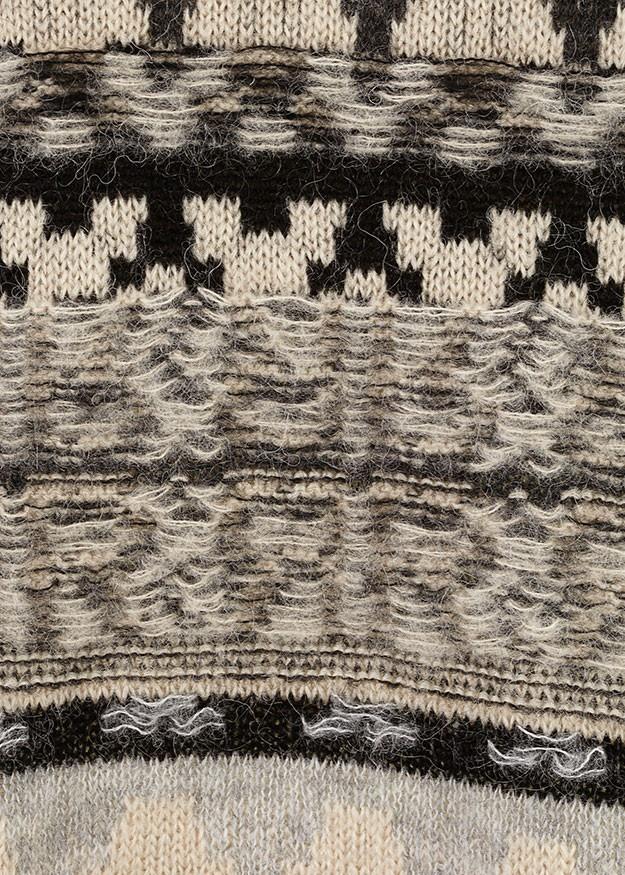 Riani Turtle Neck Aztec Jumper Opaline Patterned