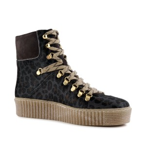 Shoe The Bear Agda Leo Lace Up Boot Grey