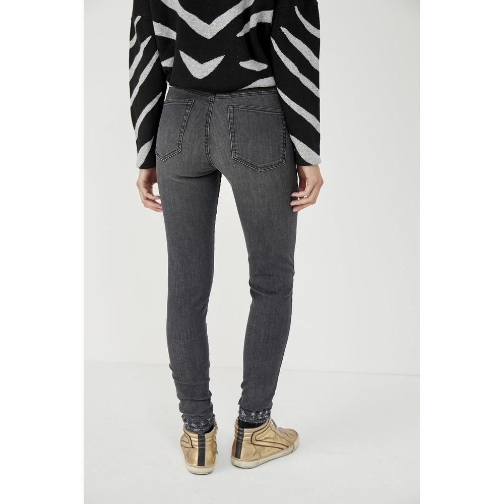 Five Axel Slim Leg Jean Grey