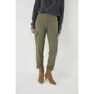 Five Maguy Cargo Straight Leg Trouser Khaki