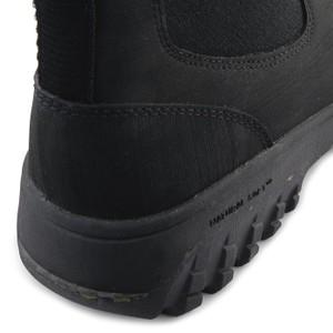 Woden Magda Rubber Track Boot Black