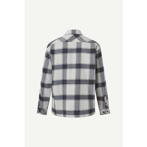 Samsoe Samsoe Castor H Shirt Grey Melange