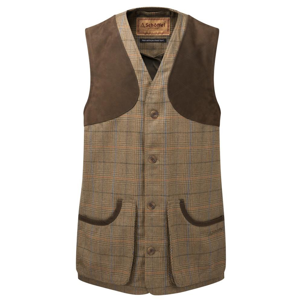Schoffel Country Ptarmigan Tweed Waistcoat II Arran Tweed