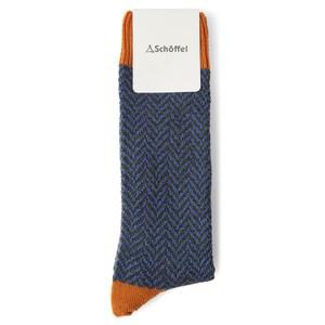 Halkirk Sock Burnt Orange
