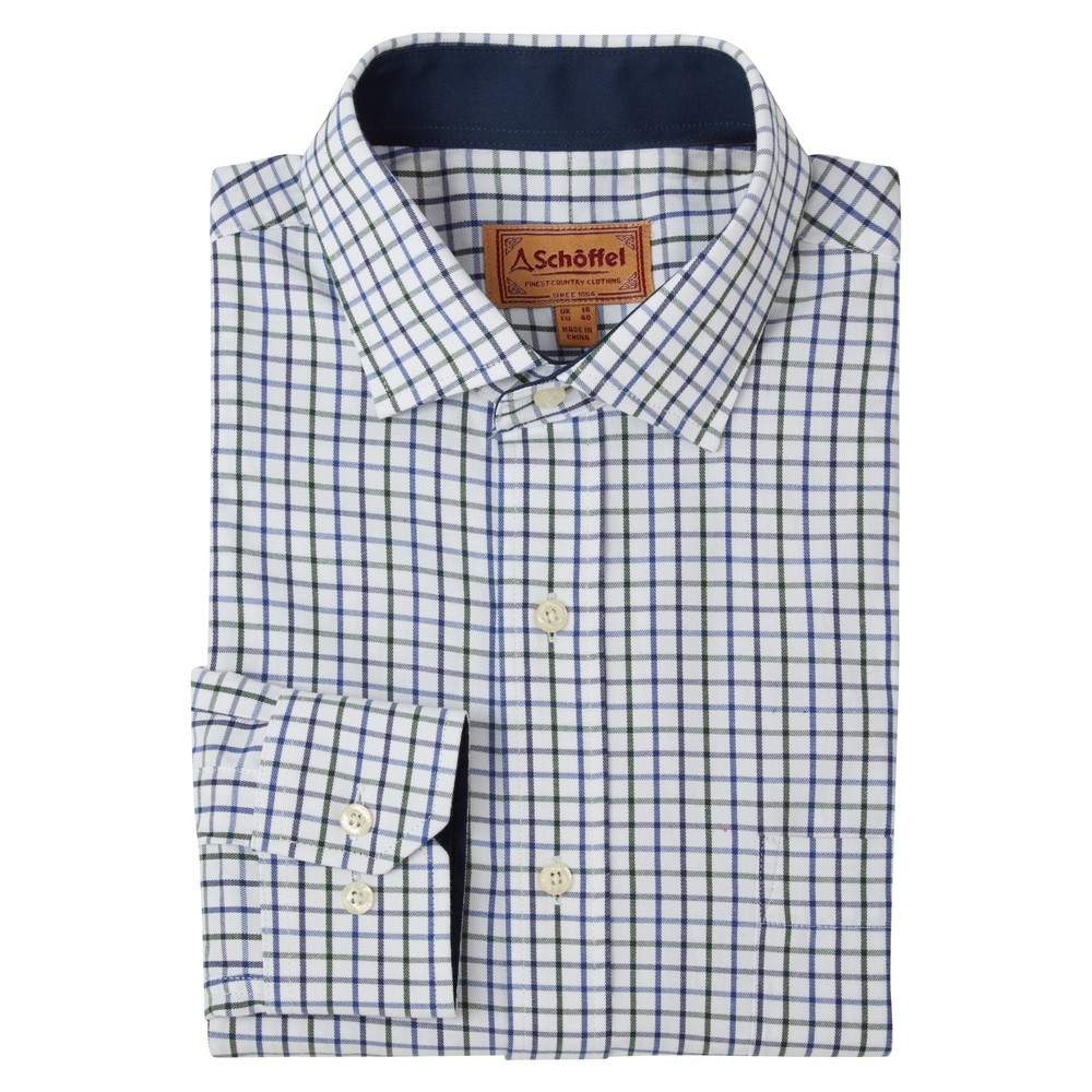 Schoffel Country Milton Tailored Shirt Racing/Navy