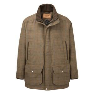Schoffel Country Ptarmigan Tweed Classic Coat Arran Tweed