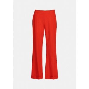 Annie Cropped Kickflare Coral Queen