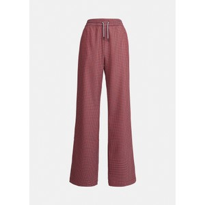 Axe Dogtooth Wide Trouser Powder Pink
