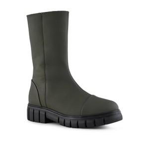 Shoe The Bear Rebel High Shaft Boot Matt Khaki