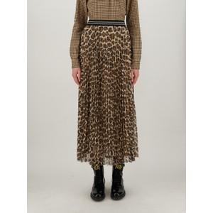 Saggina Animal Print Skirt Brown/Beige