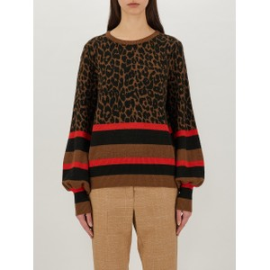 Heiros Leopard Twin Tip Knit Chocolate/Black/Coral