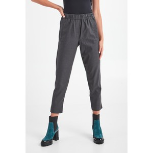 Nombre Tapered Leg Trousers Charcoal