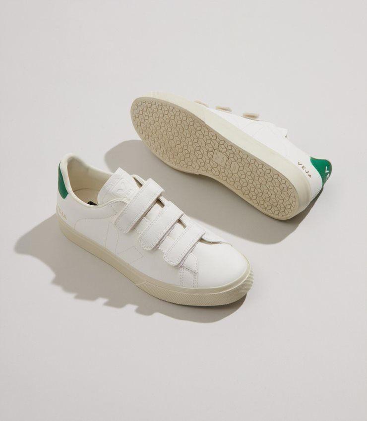 Veja Recife Chromfree Extra White-Emerald