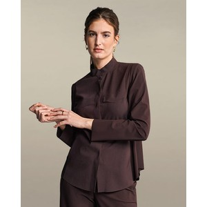 Popper Shirt/Jacket Onyx Brown