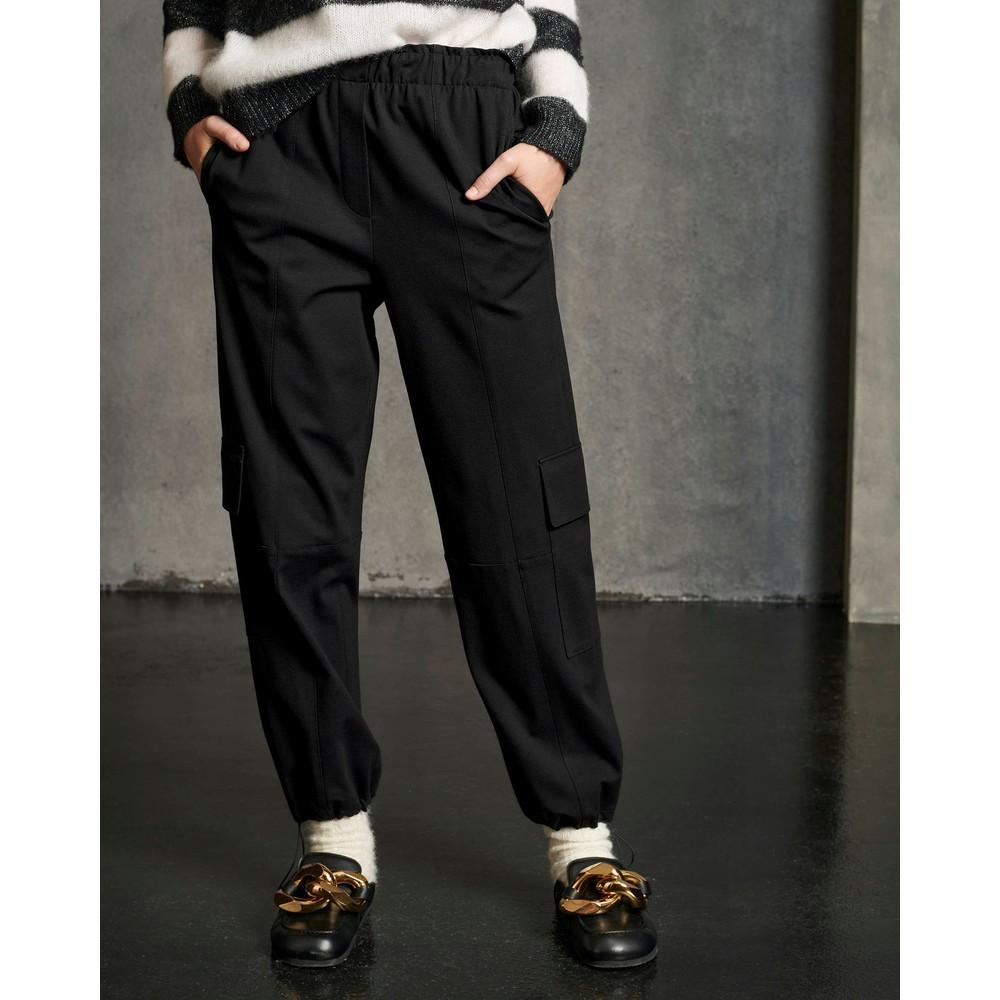 Luisa Cerano Punto Milano Pocket Trousers Black