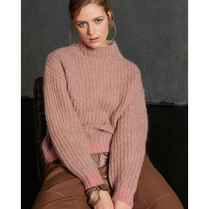 Ribbed Chunky Knit Jumper Multi
