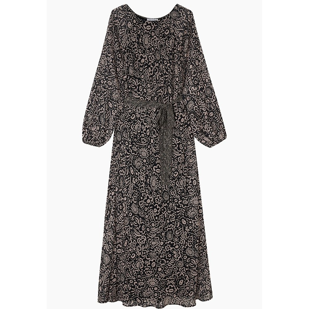 Lily & Lionel Indian Sunset Dress Harvest Black