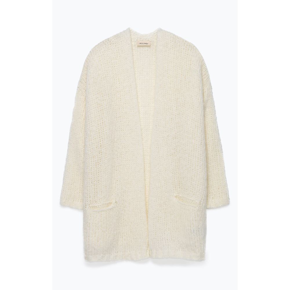 American Vintage Boolder Open Cardi Mother of Pearl