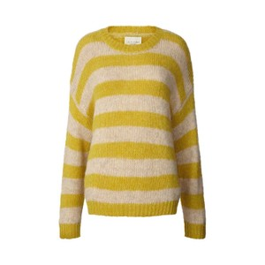 Lollys Laundry Terry Stripe Jumper in Yellow