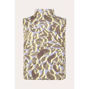 Stine Goya Leonor Padded Gilet Lavender Leaf