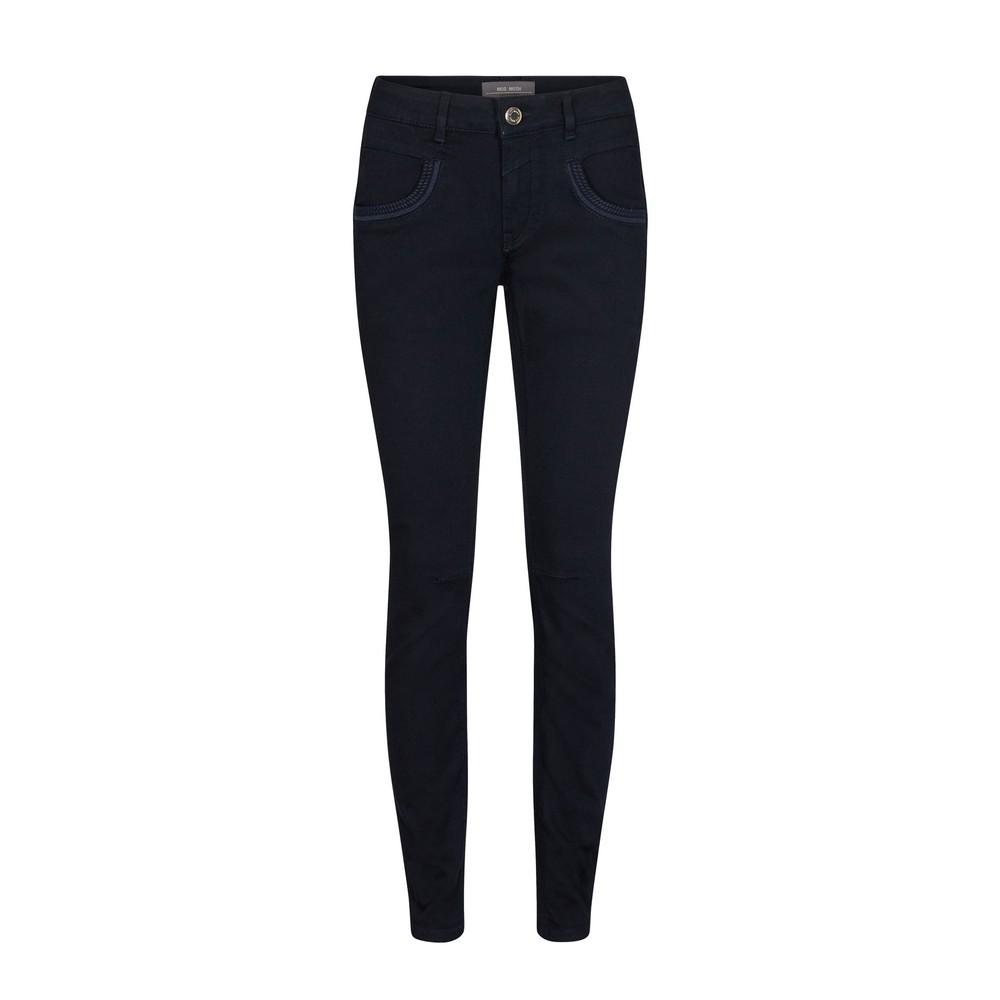 Mos Mosh Naomi Straight Leg Jean Dark Blue