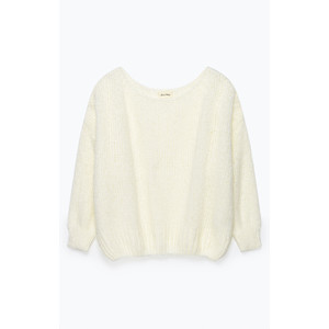 Boolder Chunky Knit Oversized Jumper Mother of Pearl