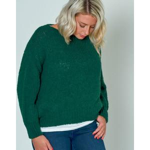 Boolder Chunky Knit Oversized Jumper Spruce