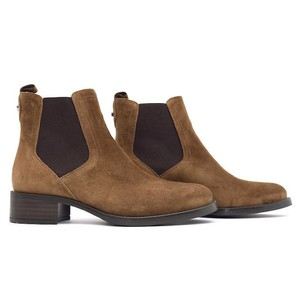 Alpe Suede Chelsea Boot Tan