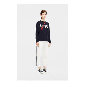 Love Arrow Sweater Navy