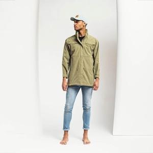 BRGN Nordavind Mens Jacket Green Herb
