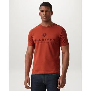 1924 Distressed T-Shirt Red Ochre/Dark Red