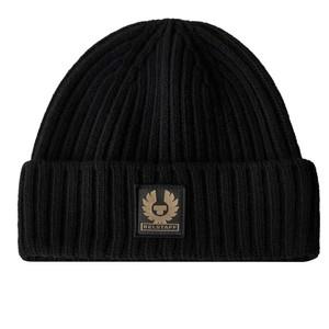 Belstaff Watch Wool Hat in Black