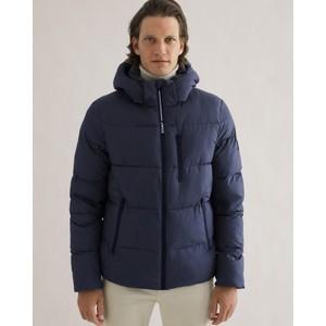 Bazalf Hooded Jacket Deep Navy